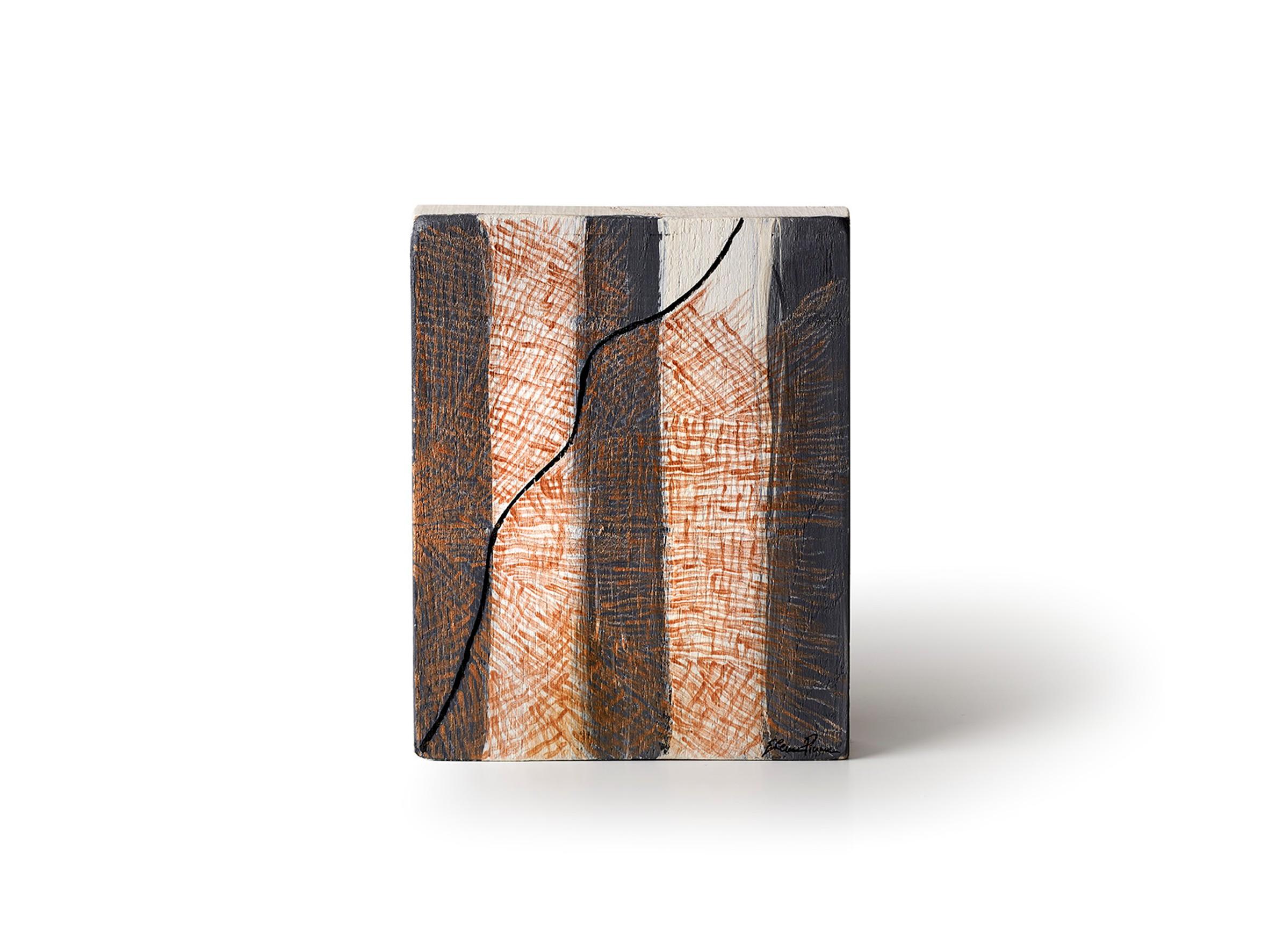 acrylic on solid wood